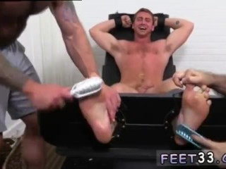 Boys foot gay sex tube Connor Maguire Jerked & Tickle d