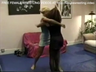 You're late, we wrestling lesbian sex