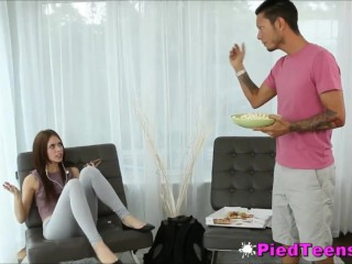 Gorgeous Teen Anya Olsen Creampied To Pay Rent Arrears