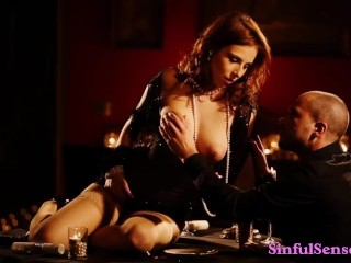 Dinner Turns Into Sensual Fuck For Beautiful Couple