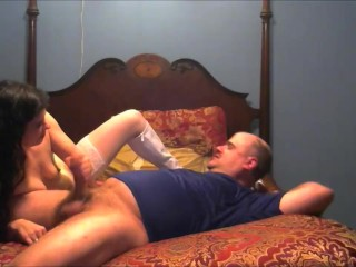Mommy is a slut who Gets A Huge Facial