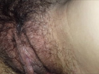 Girl gets fucked slowly and cums all over my dick.