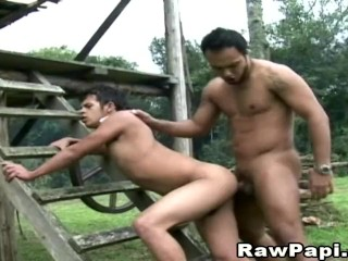 Gay Latino Men Hard Bareback Anal Sex