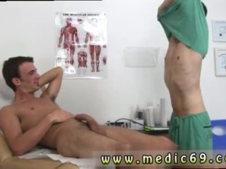 Gay blowjob doctor first time Aaron was really loving this part of the