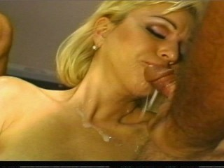 Hot cum from both sides