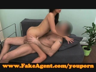 FakeAgent Cute Japanese girl takes huge facial