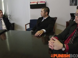 Punishbox – Coworks get whats comming to her