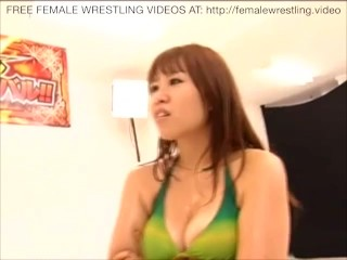 Japanese Know How To Lesbian Wrestling Sex