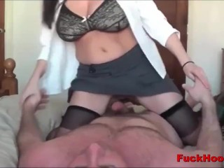 Horny Cheating Lactating Mommy Gets Her Milk Sucked