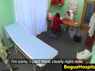 Euro whore pussylicked by the doctor