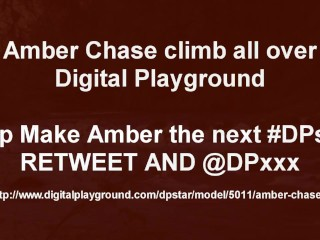 Amber Chase Wants to CLimb THe DIgital PLayground #DPSTAR