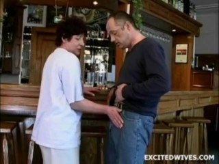 53 year old bar owner fucked by customer