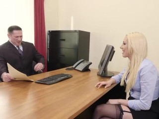 Roxy Demonstrates Her Talents In Job Interview