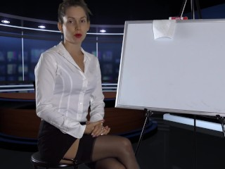 I was the secretary but now I'm YOUR FemDom Boss