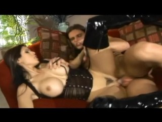 Shy Love fucking in boots