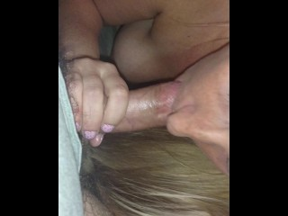 wife sucks cock till cums in mouth
