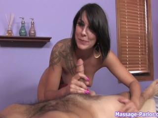 Sexy Masseuse Gives Extra Service Pt. 1/3