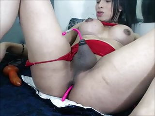 Ass Plugged Latina Tranny – Hot Solo