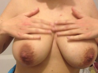My french big tits wife