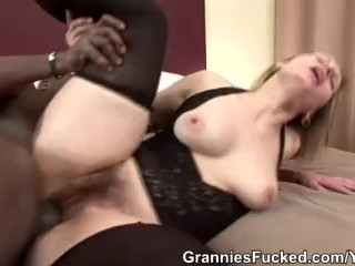 Granny Magda Loves It Doggystyle