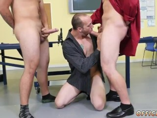 Gay twinks get fucked by straight black men and straight guy eating own