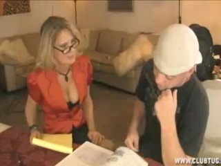 Milf Tutor And Young Student Got This Crazy Agreement