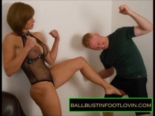 Ballbusting Slideshow – Femdom Lecture – The Superior Sex – Educational