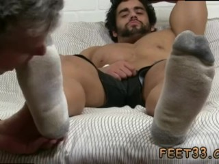 Gay guys feet and ass porn movies Alpha-Male Atlas Worshiped