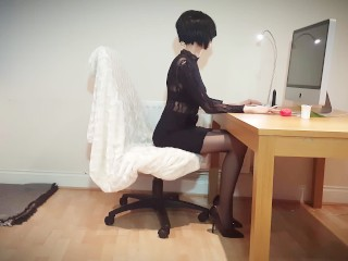 13- Nikki the slutty Secretary wants cream in her tea -part1- Nikki's WE #4