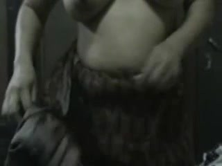 Mature indian aunty playing