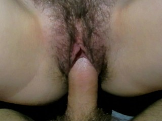 Fuck old hairy pussy