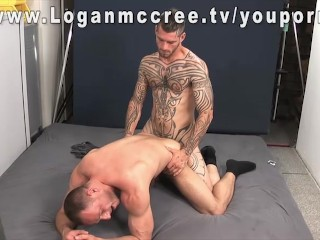 Alan gets fucked in a Warehouse – Logan McCree tv