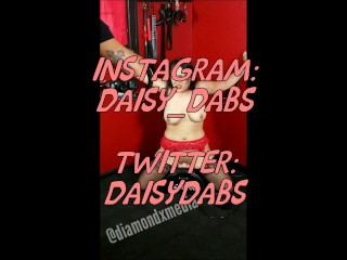 Daisy Dabs gets a morning pounding
