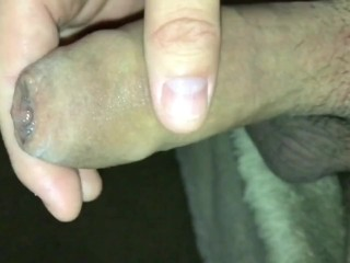SLO-MO – Juicy Uncut Dick: peeling my Foreskin all the way back