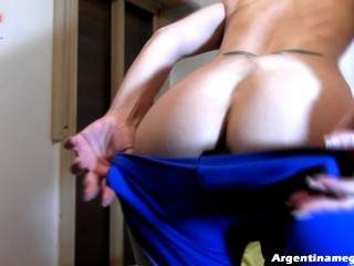 Introducing Valerie: New Cameltoe Queen – Anal