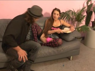 Brunette Teen Gets Fucked On The Couch – Ultima