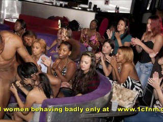 Real Bachelorette Party Wild Girls Sucking Strippers Cocks