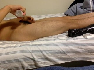 Me Jerking Off and Playing with a Toy :P