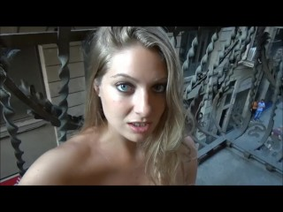 VeronicaWestonX – Cumming in Barcelona