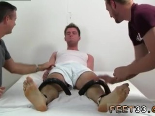 Gay twinks fetish free movies Leon's Size 13 Feet & Body Tickle d