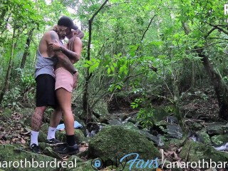 brunette stops in the middle of the trail to fuck so hot – @anarthbardreal