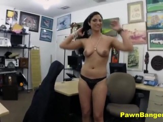 Hot Milf Paid Cash To Suck And Fuck Shop Owners Cock