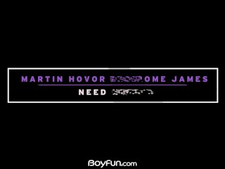 Boyfun – Martin Hovor And Jerome James Fuck It Out