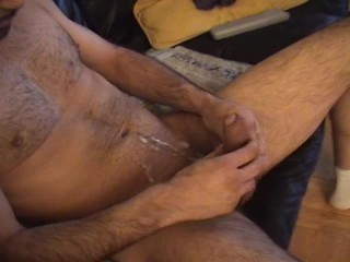 Pino brings the best out of his shaft (clip)