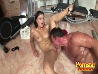 Abbie Cat Loves That Hunk Banging Her Sweet Pussy