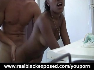 Insatiable Julie Begs For A Kitchen Fucking
