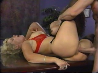 Ass Busters Inc. – Veronica Castillo and Sally Layd, Peter North
