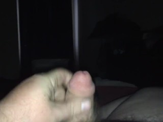 small cock jacking off