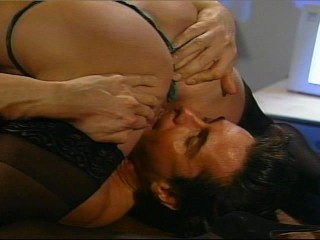 Hot british babe fucks him till he gets ready to pass out