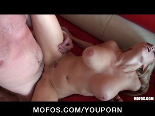 Horny Petite Blonde girlfriends fuck in hot gang-bang orgy party